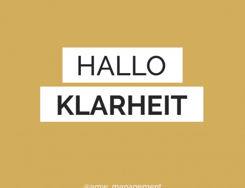 HALLO KLARHEIT