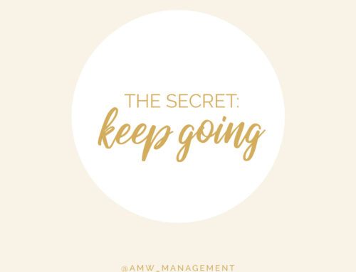 The Secret: Keep Going!